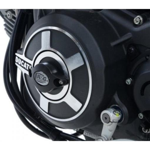 R G Engine Case Slider for Ducati Scrambler 2015 2018