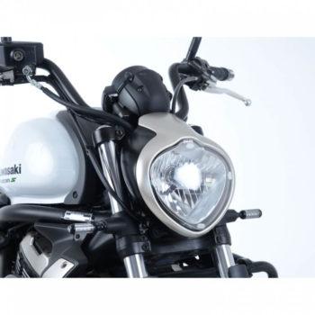 R G Headlight Shield for Kawasaki Vulcan S 2015 NEW