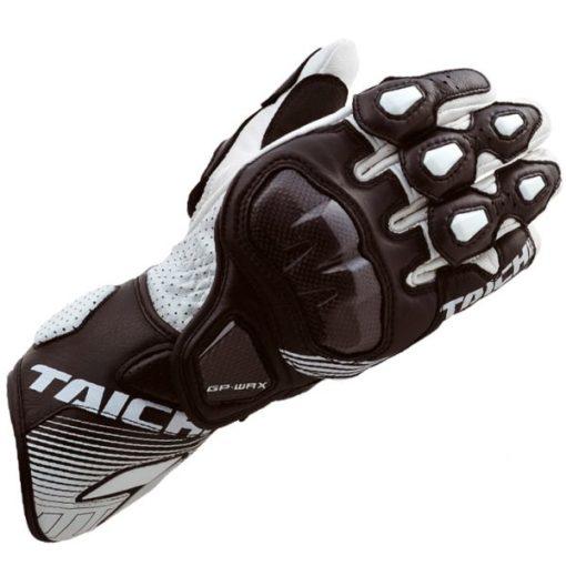 RS Taichi GP WRX Racing Gloves White Black L