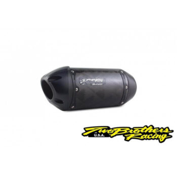 Two Brothers Carbon Fiber Slip on Exhaust for Kawasaki Ninja 400 2019