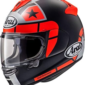 ARAI Chaser X Maverick GP Matt Red Full Face Helmet