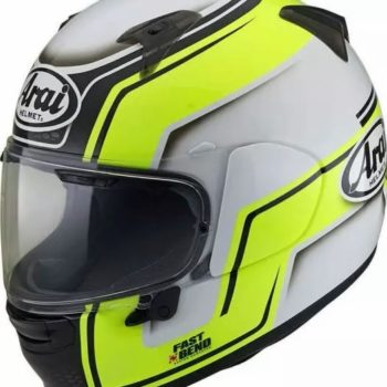 ARAI Profile V Bend Yellow Full Face Helmet