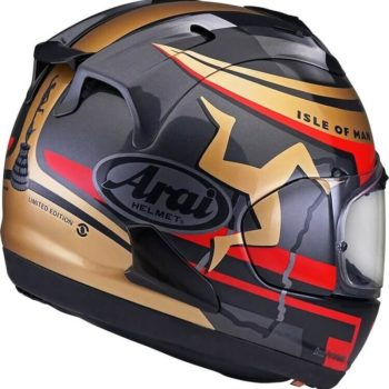 ARAI RX 7V IOM TT 2020 Gloss Full Face Helmet 2