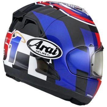 ARAI RX 7V Leon Haslam Gloss Full Face Helmet 1