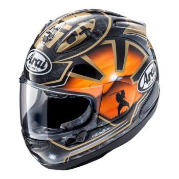 ARAI RX 7V Pedrosa Spirit Gold Gloss Full Face Helmet