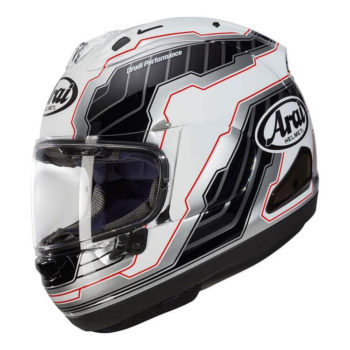 ARAI RX7V Mamola Edge White Full Face Helmet