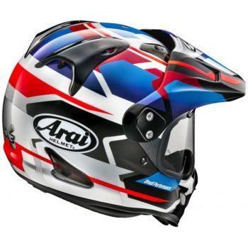 ARAI Tour X 4 Depart Blue Dual Sport Helmet 1