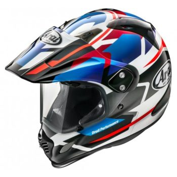 ARAI Tour X 4 Depart Blue Dual Sport Helmet