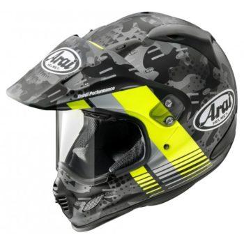 ARAI Tour X4 Fluor Yellow Dual Sport Helmet