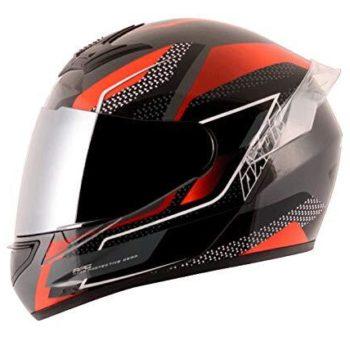 AXOR RAGE RUSTY Gloss Athena Grey Red Full Face Helmet 2