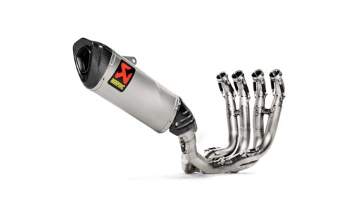 Akrapovic Stainless Steel Full System Exhaust for BMW S1000RR 2