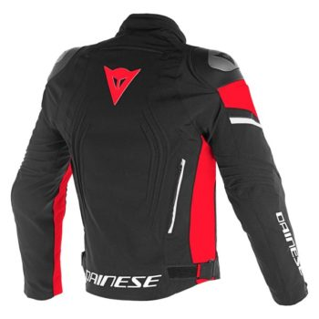 Dainese Racing 3 D Dry Black Black Red Riding Jacket 1