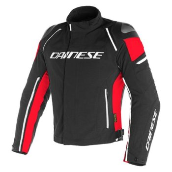 Dainese Racing 3 D Dry Black Black Red Riding Jacket