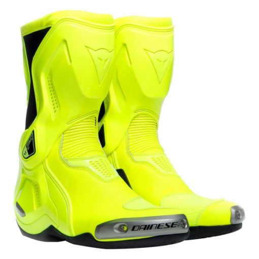 Dainese Torque 3 Out Fluorescent Yellow Riding Boots