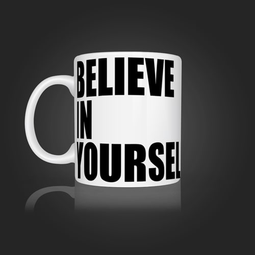 INLINE4 Believe in yourself Mug