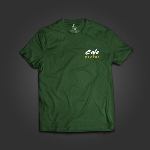 INLINE4 Cafe Racer Cotton Motorcycle T shirt