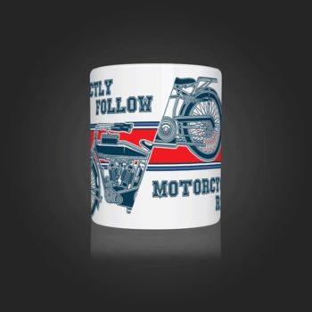 INLINE4 Motorcycle Religion Mug