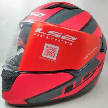LS2 FF320 Stream Evo Rex Matt Black Red Full Face Helmet