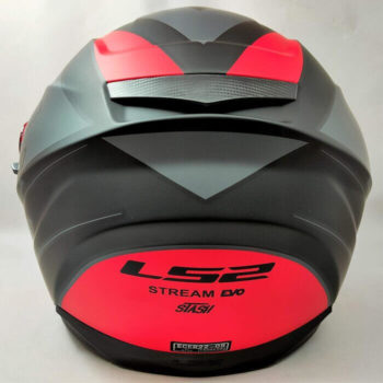 LS2 FF320 Stream Evo Stash Matt Black Red Full Face Helmet 1
