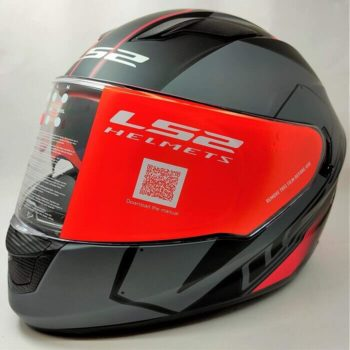 LS2 FF320 Stream Evo Stash Matt Black Red Full Face Helmet