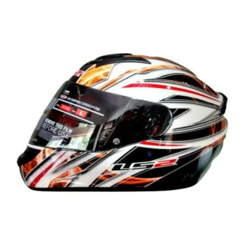 LS2 FF352 Orange Blast Full Face Helmet 3