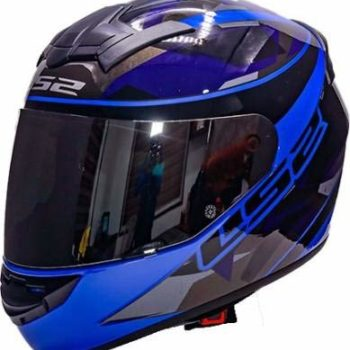 LS2 FF352 Rookie Recruit Gloss Black Blue Full Face Helmet