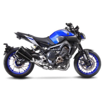 LeoVince GP Duals Full System SS Exhaust for Yamaha MT 09 2