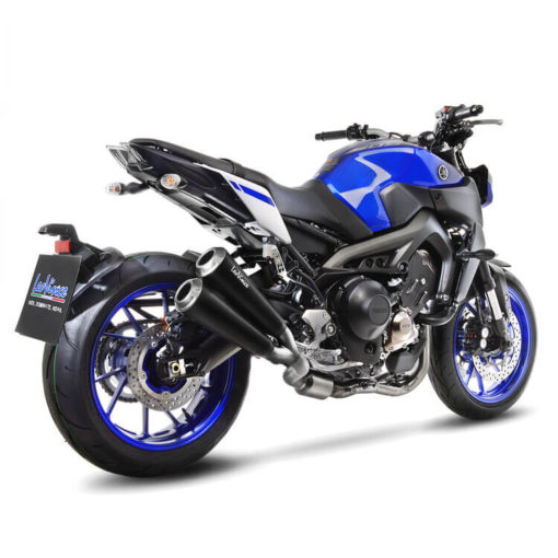 LeoVince GP Duals Full System SS Exhaust for Yamaha MT 09 3
