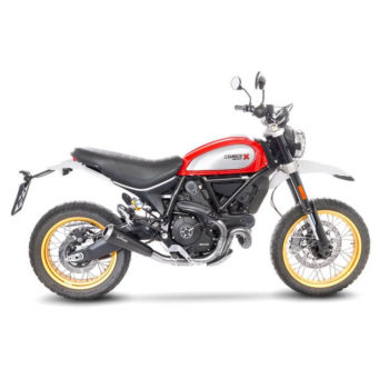 LeoVince GP One SS Slip On Exhaust for Ducati Scrambler 800 Desert Sled
