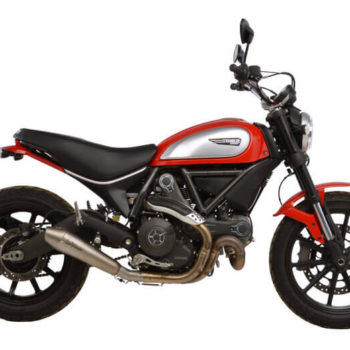 LeoVince GP Style SS Slip On Exhaust for Ducati Scrambler 800 Icon Classic