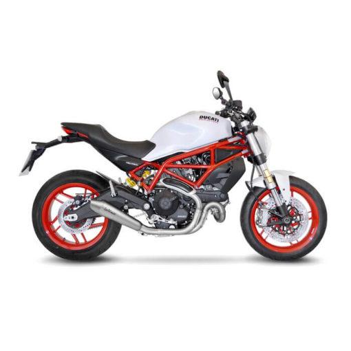 LeoVince GP Style SS Slip on Exhaust for Ducati Monster 797