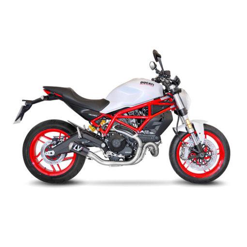 LeoVince LV 10 Carbon Fiber Slip On Exhaust for Ducati Monster 797