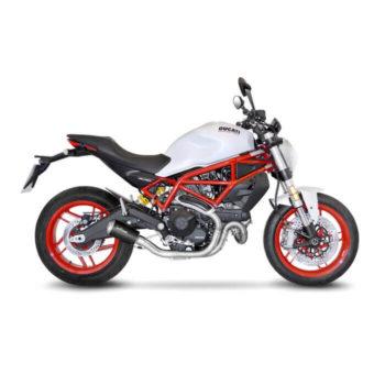 LeoVince LV 10 SS Black Edition Slip On Exhaust for Ducati Monster 797