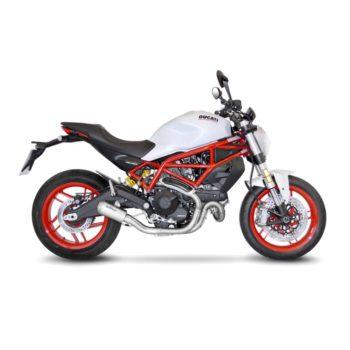 LeoVince LV 10 SS Slip On Exhaust for Ducati Monster 797