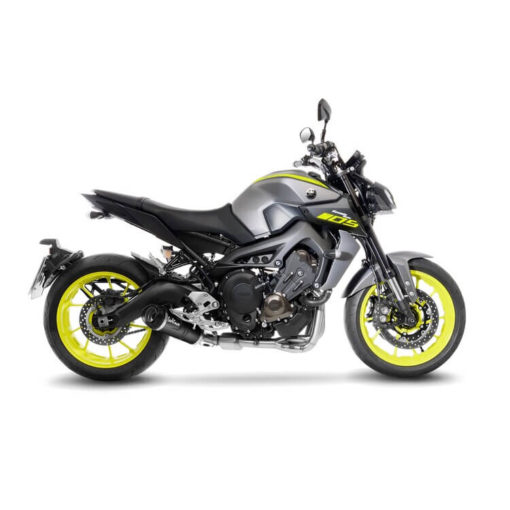 LeoVince LV One Evo Black Edition SS Full System Exhaust for Yamaha MT 09 1 1
