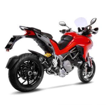 LeoVince LV Pro Carbon Fiber Slip On Exhaust for Ducati Multistrada 1260 S