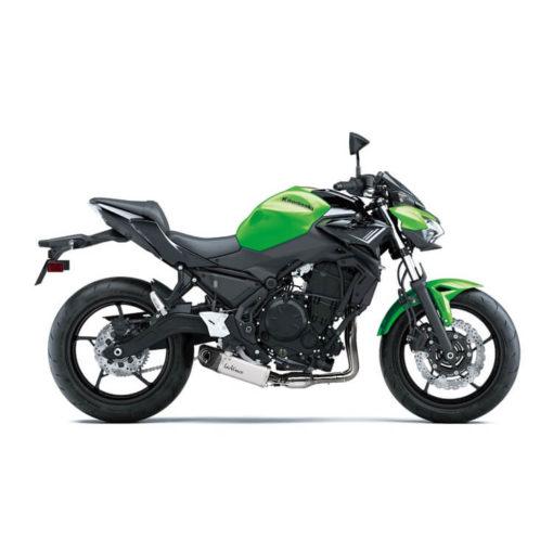 LeoVince Underbody Full System Exhaust for Kawasaki Z650 1
