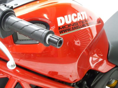 RG Bar End for Ducati Monster 796 BE0048BK 1