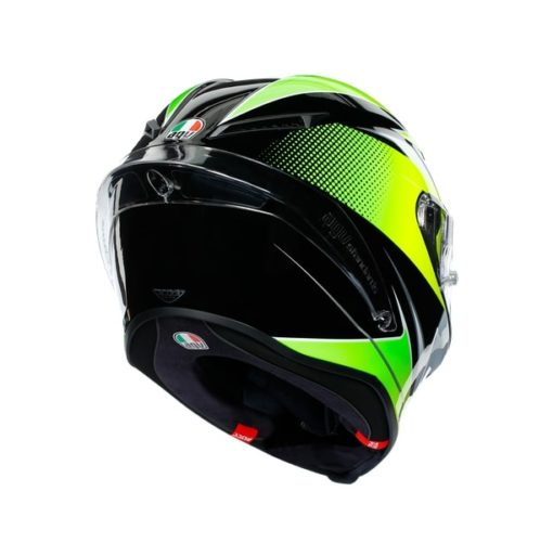 AGV CORSA R E2205 Multi SuperSport Gloss Black White Lime Full Face Helmet 6