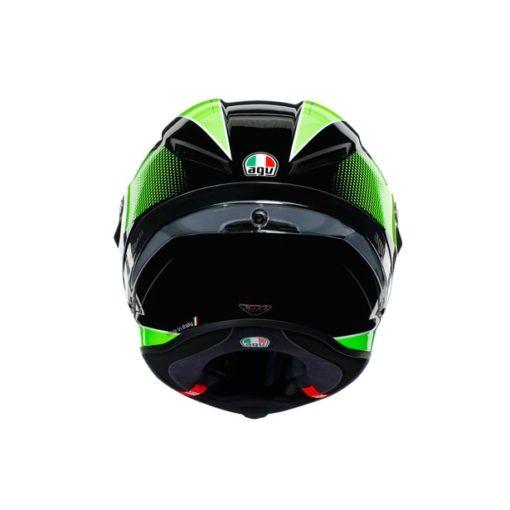 AGV CORSA R E2205 Multi SuperSport Gloss Black White Lime Full Face Helmet 7