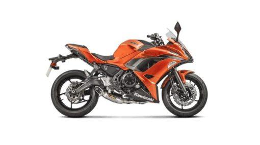 Akrapovic Titanium Racing Line Full System Exhaust For Kawasaki Ninja 650 2