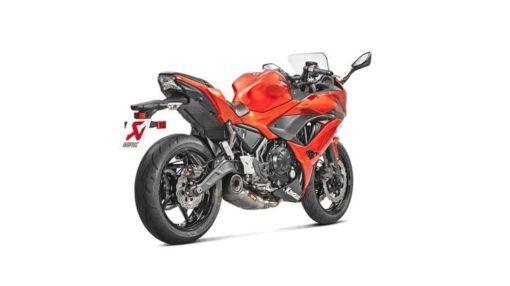 Akrapovic Titanium Racing Line Full System Exhaust For Kawasaki Ninja 650 3