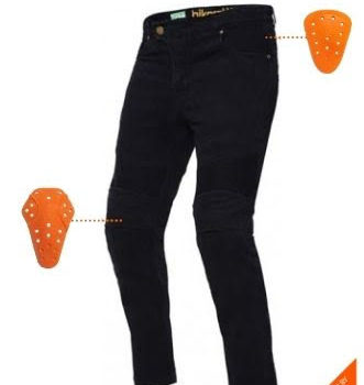 Bikeratti Raven Pro Denim Black Riding Jeans 9
