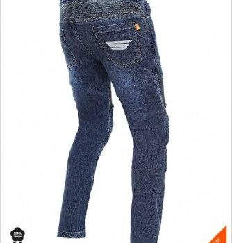 Bikeratti Steam Pro Denim Blue Riding Jeans 2
