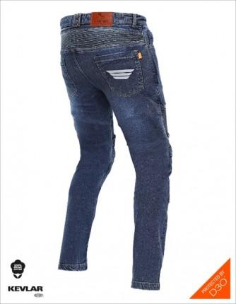Bikeratti Steam Pro Denim Blue Riding Jeans 2
