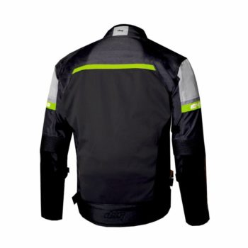 DSG Evo 2 Air Black Grey Fluorescent Yellow Riding Jacket 1