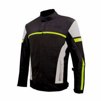DSG Evo 2 Air Black Grey Fluorescent Yellow Riding Jacket