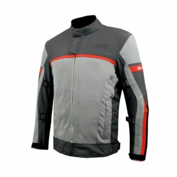 DSG Evo 2 Air Black Grey Red Riding Jacket