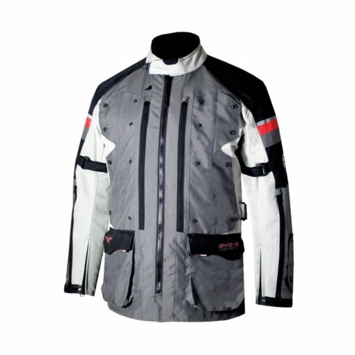 DSG Evo 2 Touring Grey Black Riding Jacket