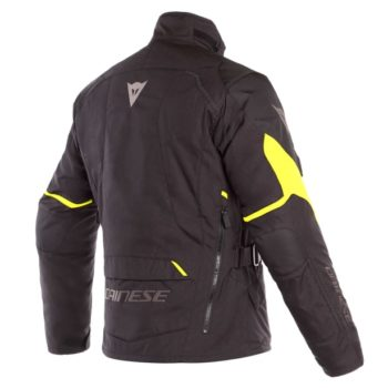Dainese Tempest 2 D Dry Black Fluorescent Yellow Riding Jacket 1